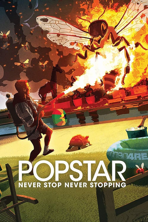 Popstar: Never Stop Never Stopping - Movie Poster