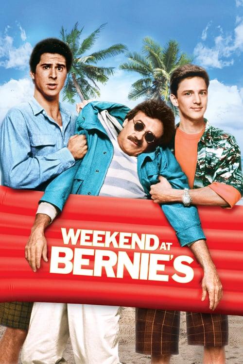 Weekend at Bernie's - Movie Poster
