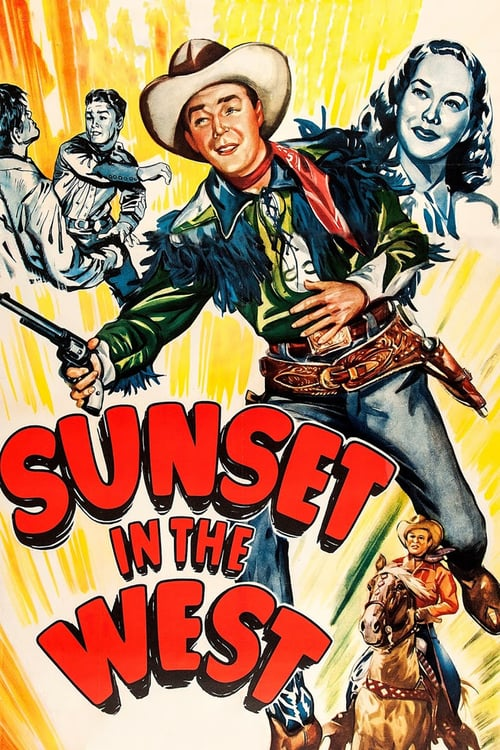 Sunset in the West - Movie Poster
