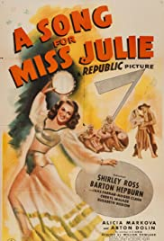 A Song for Miss Julie - Movie Poster