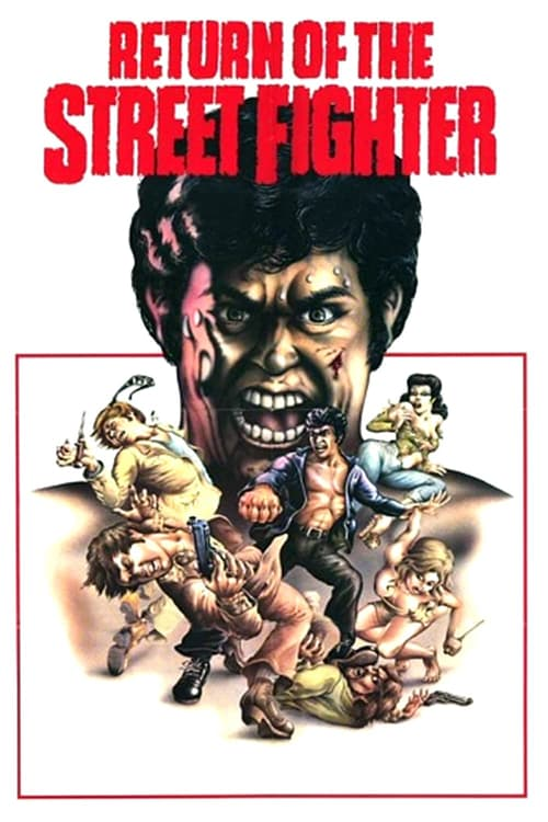 Return of the Street Fighter - Movie Poster
