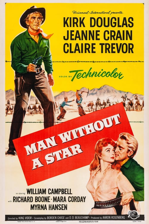 Man Without a Star - Movie Poster
