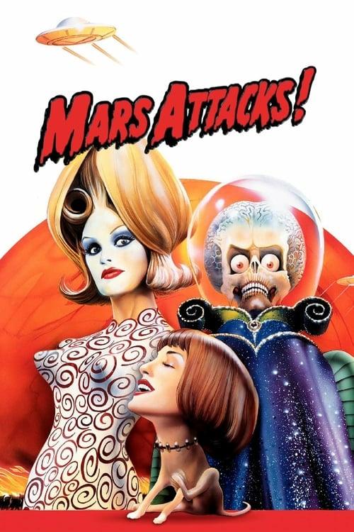 Mars Attacks! - Movie Poster
