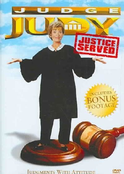 Judge Judy: Justice Served - Movie Poster