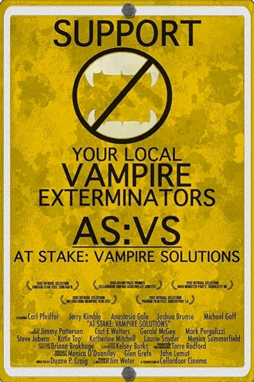 At Stake: Vampire Solutions - Movie Poster