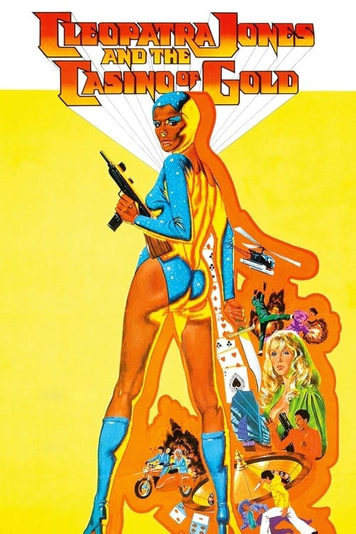 Cleopatra Jones and the Casino of Gold - Movie Poster