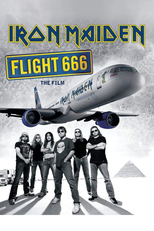 Iron Maiden: Flight 666 - Movie Poster