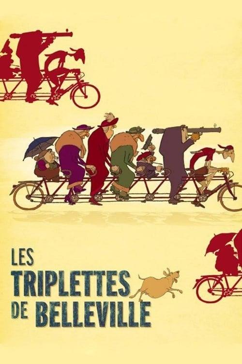 The Triplets of Belleville - Movie Poster