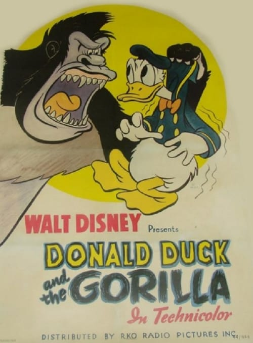 Donald Duck and the Gorilla - Movie Poster