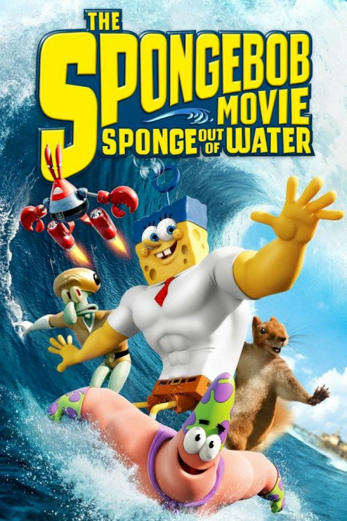 The SpongeBob Movie: Sponge Out of Water - Movie Poster
