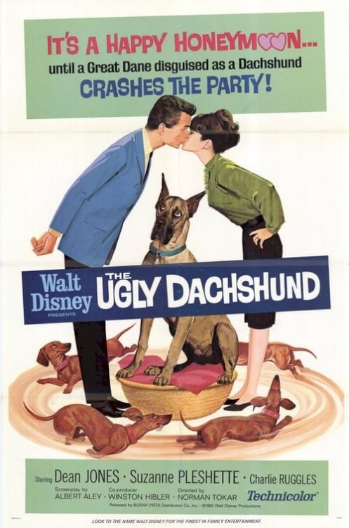 The Ugly Dachshund - Movie Poster