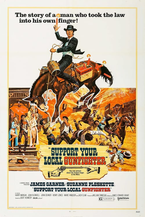 Support Your Local Gunfighter - Movie Poster