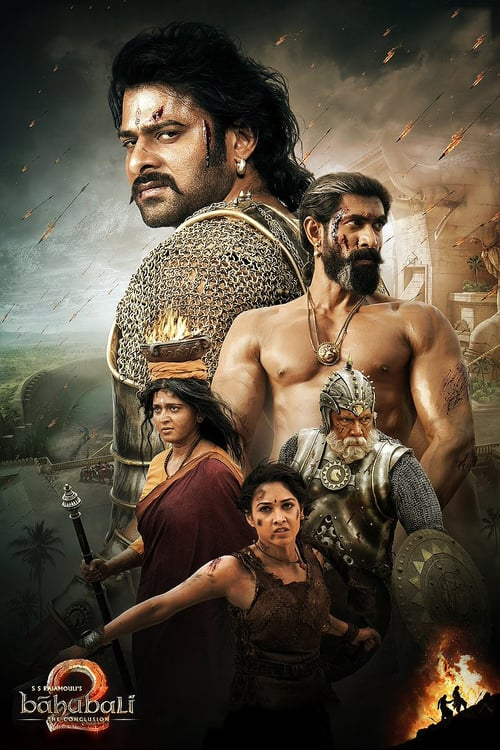 Bāhubali 2: The Conclusion - Movie Poster