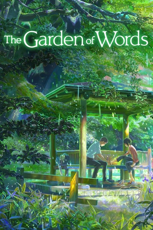 The Garden of Words - Movie Poster