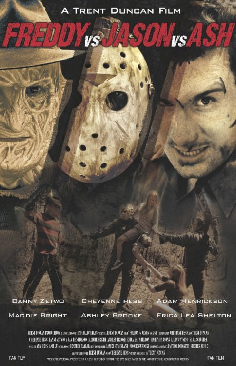 Freddy vs. Jason vs. Ash - Movie Poster