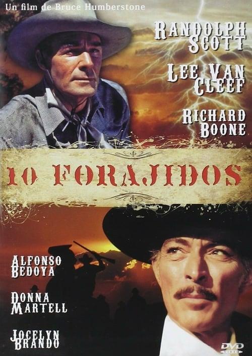 Ten Wanted Men - Movie Poster
