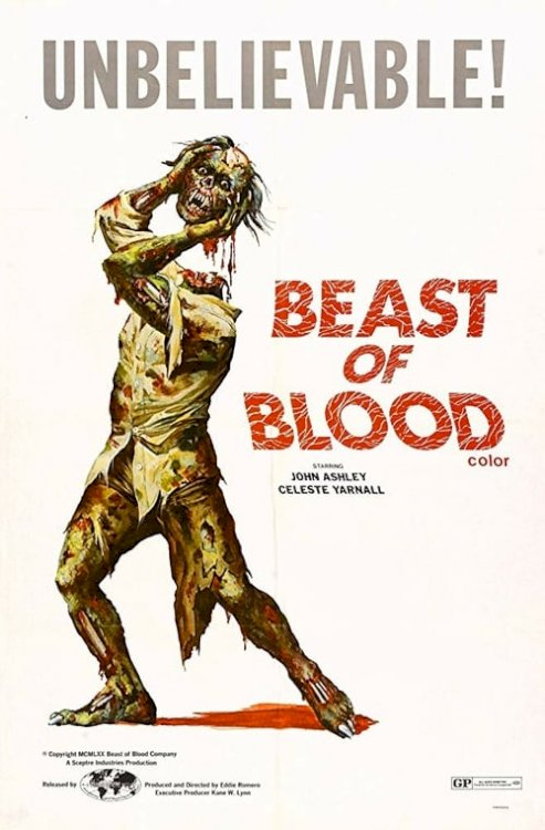 Beast of Blood - Movie Poster