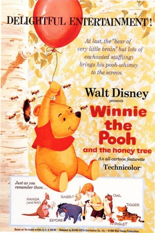 Winnie the Pooh and the Honey Tree - Movie Poster