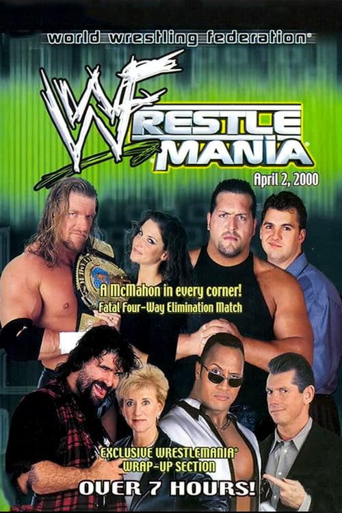 WWE WrestleMania 2000 - Movie Poster