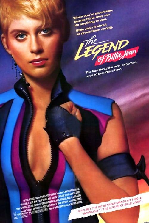 The Legend of Billie Jean - Movie Poster