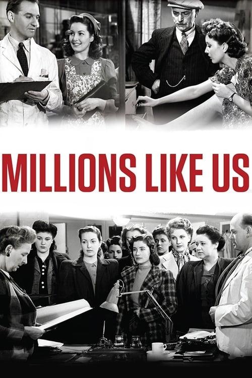 Millions Like Us - Movie Poster