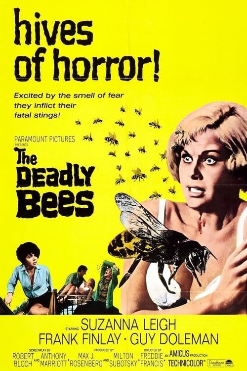 The Deadly Bees - Movie Poster