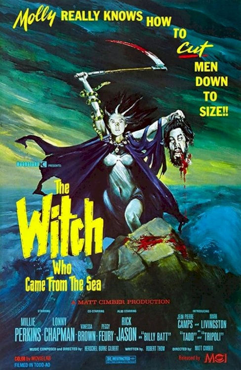 The Witch Who Came from the Sea - Movie Poster