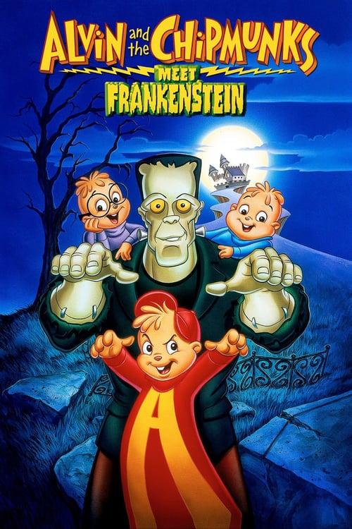 Alvin and the Chipmunks Meet Frankenstein - Movie Poster