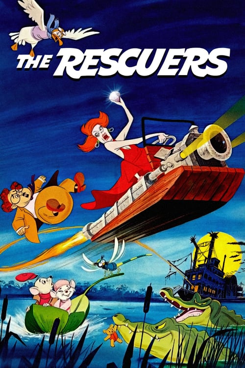 The Rescuers - Movie Poster