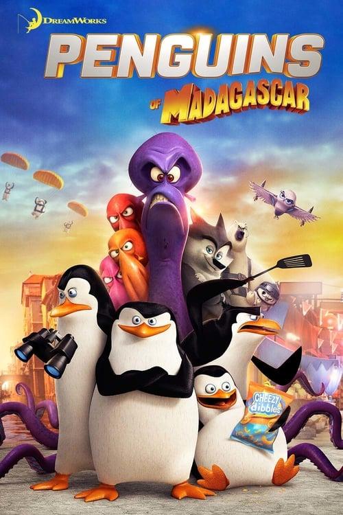 Penguins of Madagascar - Movie Poster
