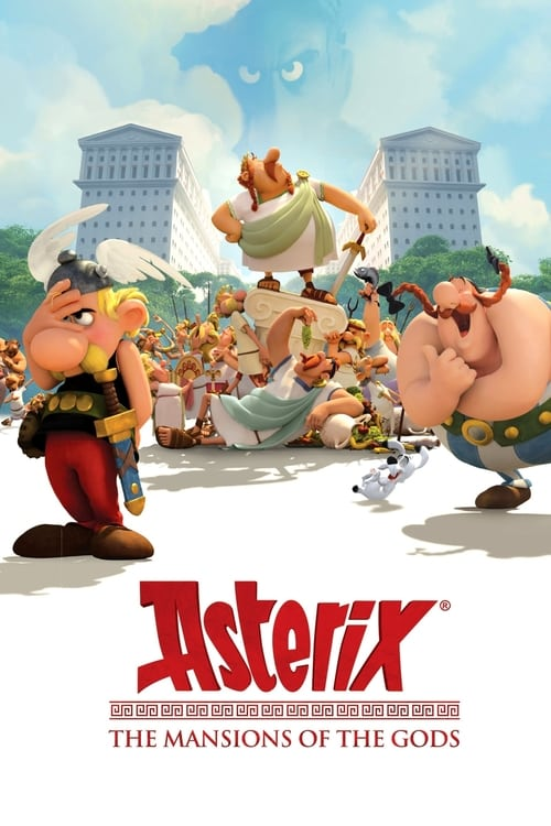Asterix: The Mansions of the Gods - Movie Poster