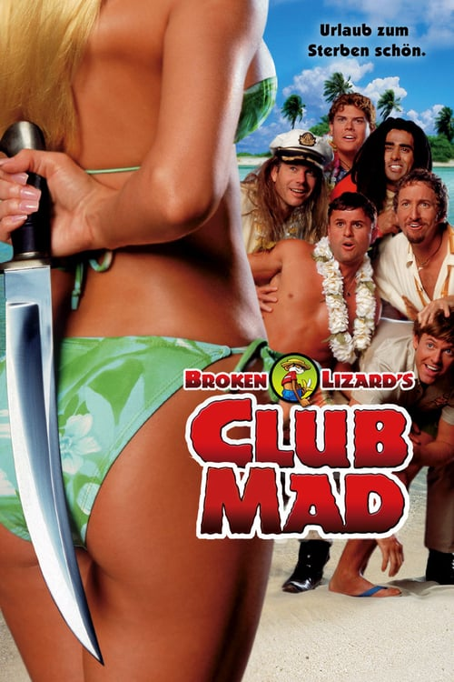 Club Dread - Movie Poster