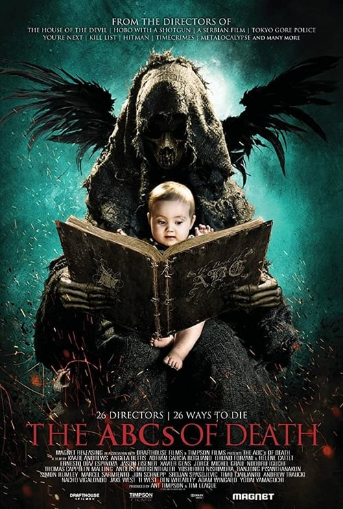The ABCs of Death - Movie Poster