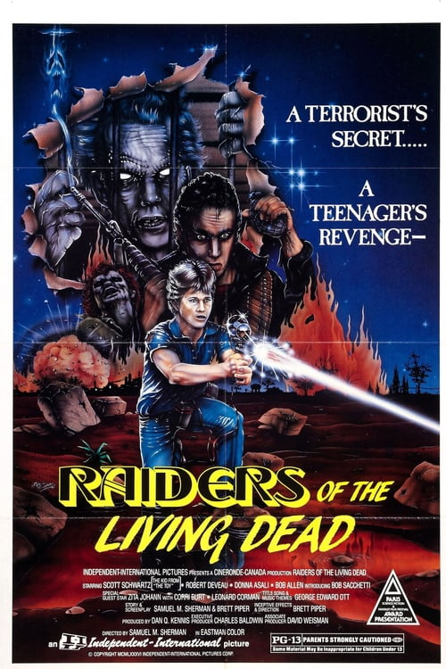 Raiders of the Living Dead - Movie Poster