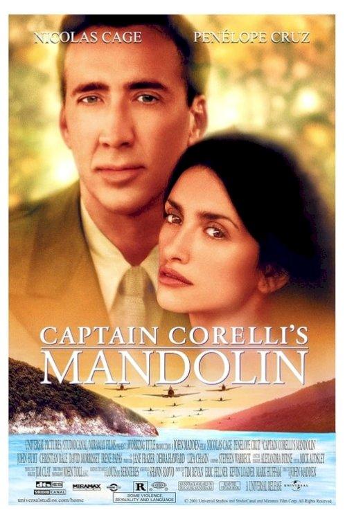 Captain Corelli's Mandolin - Movie Poster