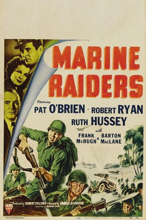 Marine Raiders - Movie Poster