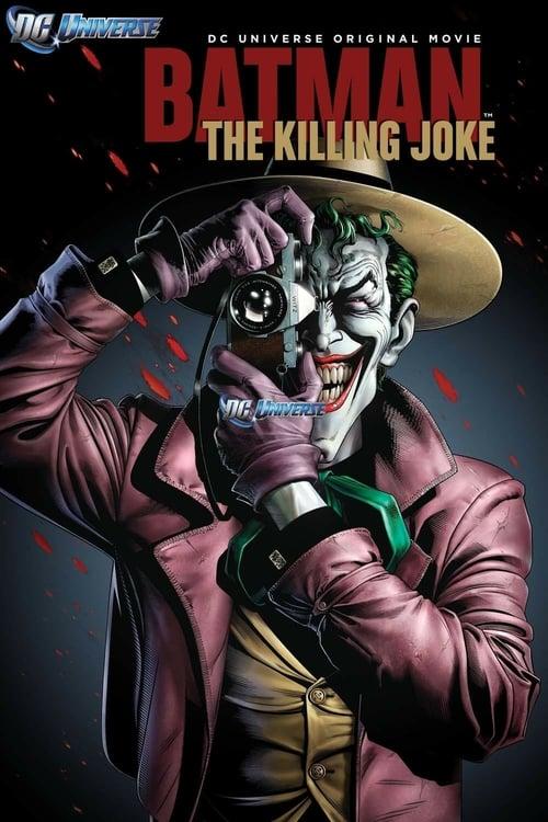 Batman: The Killing Joke - Movie Poster