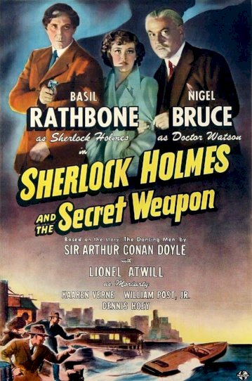Sherlock Holmes and the Secret Weapon - Movie Poster