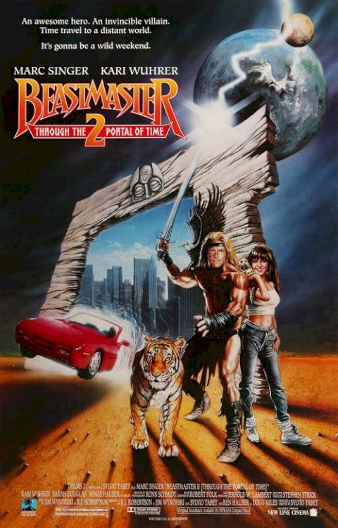 Beastmaster 2: Through the Portal of Time - Movie Poster