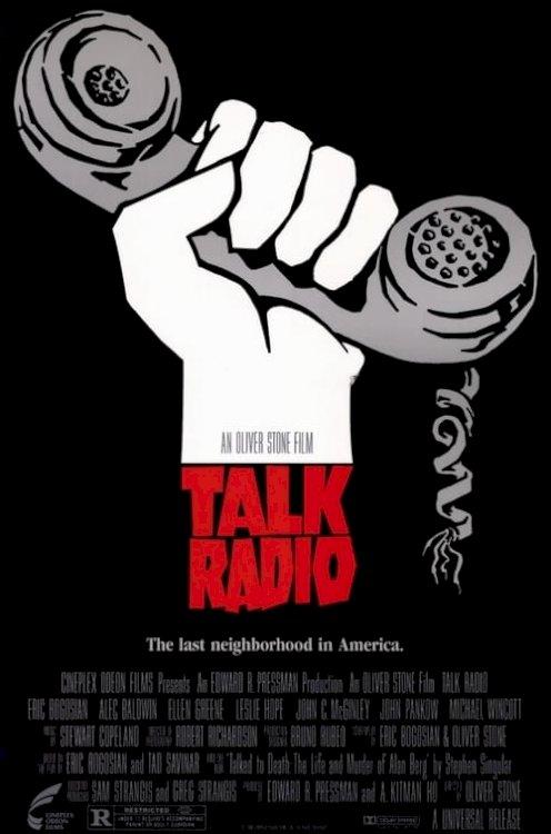 Talk Radio - Movie Poster