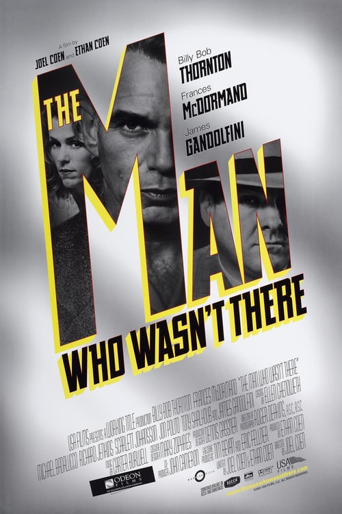 The Man Who Wasn't There - Movie Poster