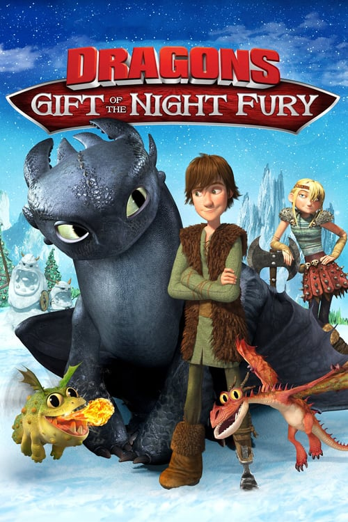 Dragons: Gift of the Night Fury - Movie Poster