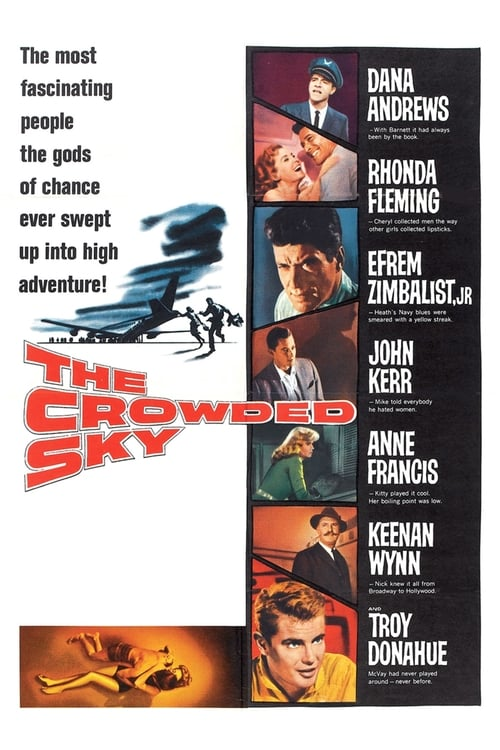 The Crowded Sky - Movie Poster