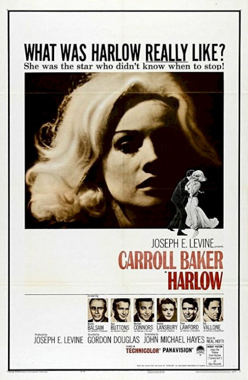 Harlow - Movie Poster