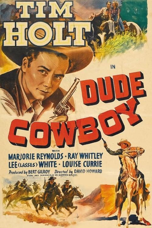 Dude Cowboy - Movie Poster