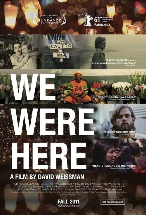 We Were Here - Movie Poster
