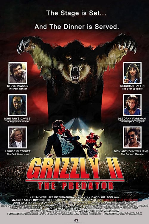 Grizzly II: Revenge - Movie Poster