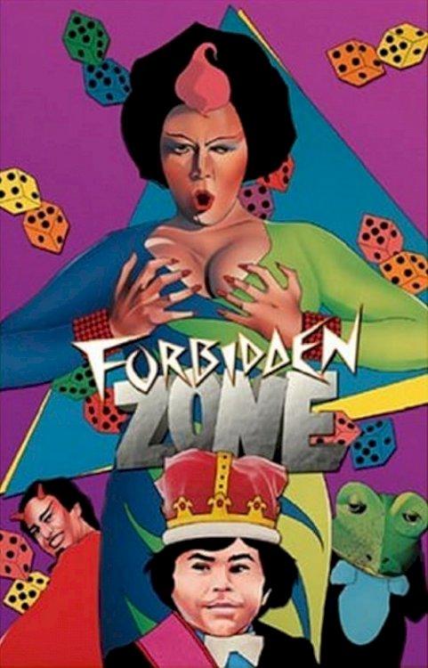 Forbidden Zone - Movie Poster
