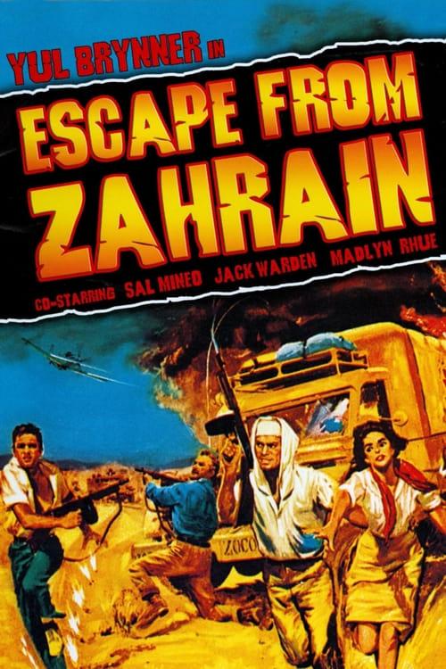 Escape from Zahrain - Movie Poster