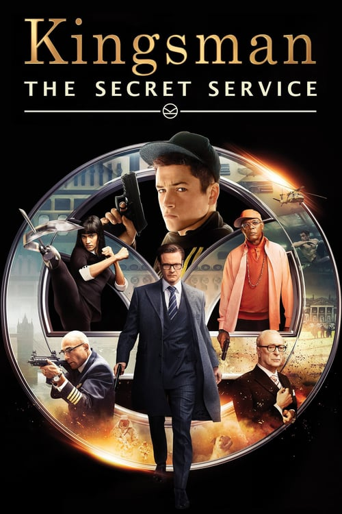 Kingsman: The Secret Service - Movie Poster